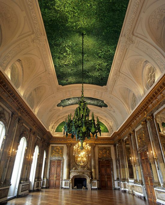 Heaven Of Delight - strange, weird and unusual ceiling (6 pics)