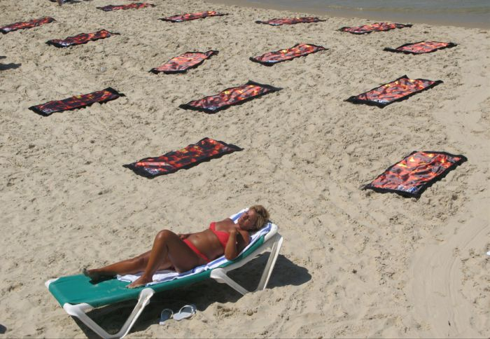 Sun exposure kills (6 pics)