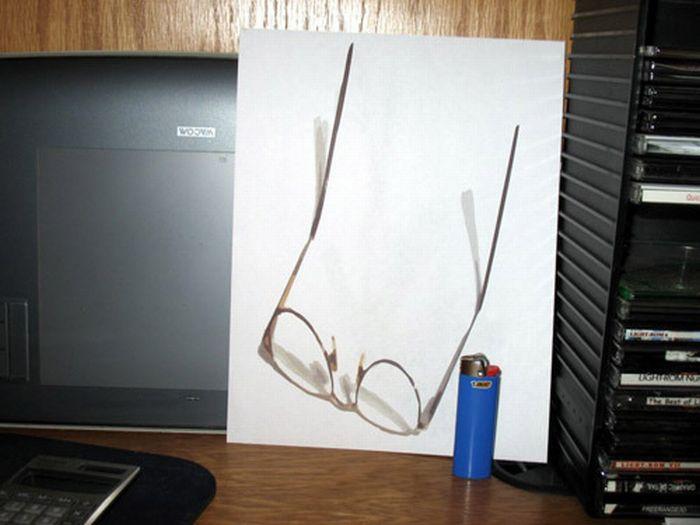 3D Anamorphic pictures (10 pics)