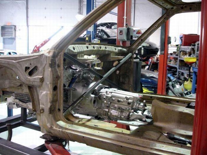 Self-assembled BMW E30 M3 (71 pics)