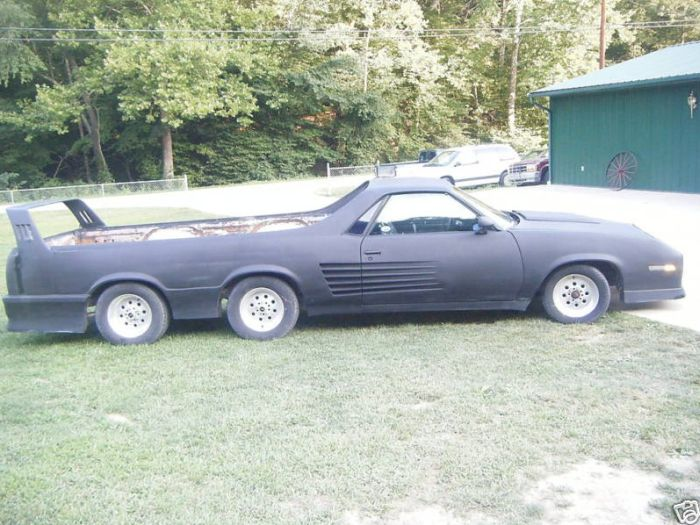 6-Wheel Chevrolet El Camino (15 pics)