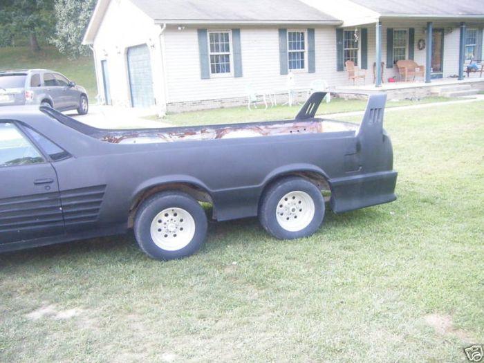 6-Wheel Chevrolet El Camino (15 pics)