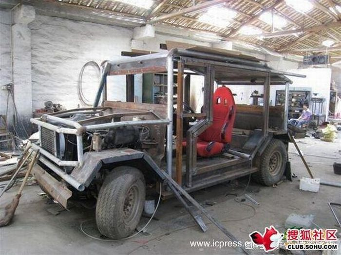 Chinese self-made cars (35 pics)
