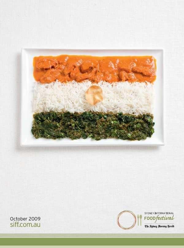 Food Flags (12 pics)