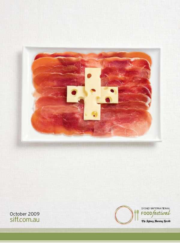 Food Flags (12 pics)