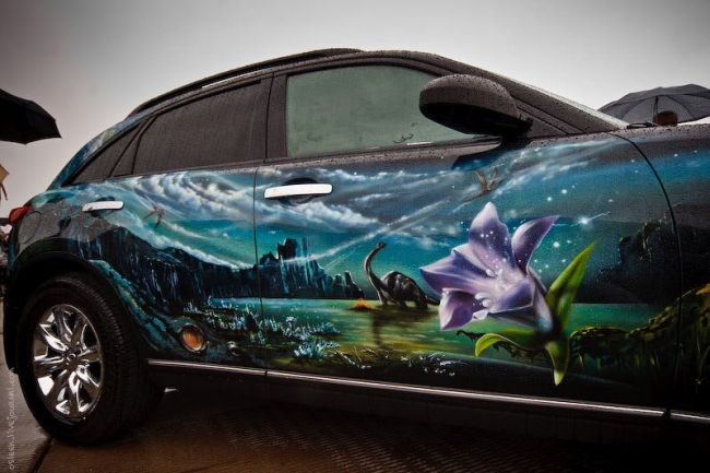 Funny And Beautiful Painted Cars 40 Pics
