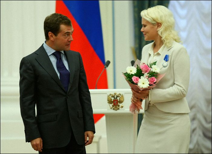 Russian President Medvedev Is Funny  (15 pics)