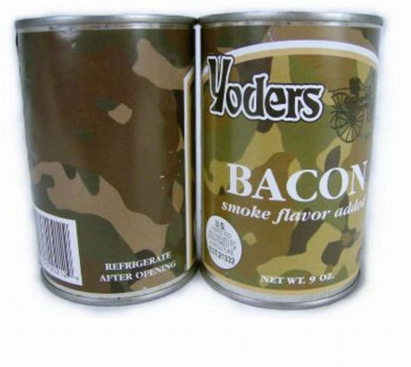 Canned Bacon (2 pics)