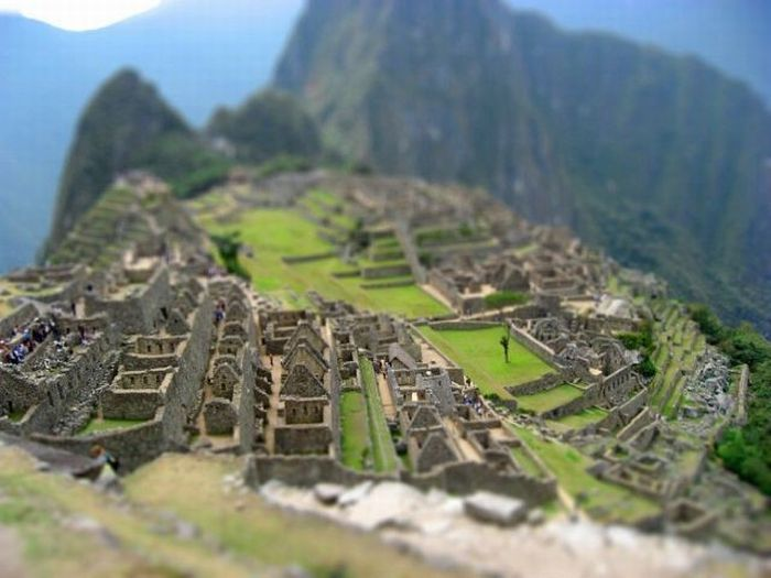 Tilt-shift photography (84 pics)