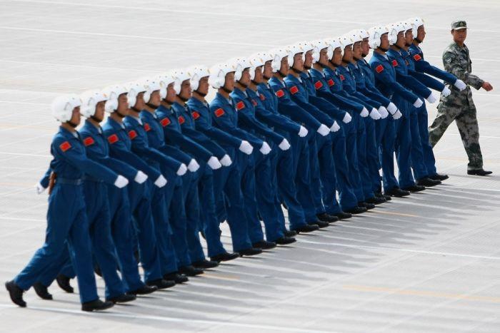 Chinese pilots (5 pics)