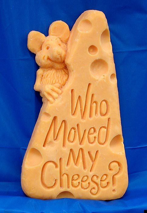 Amazing cheese sculptures (24 pics)