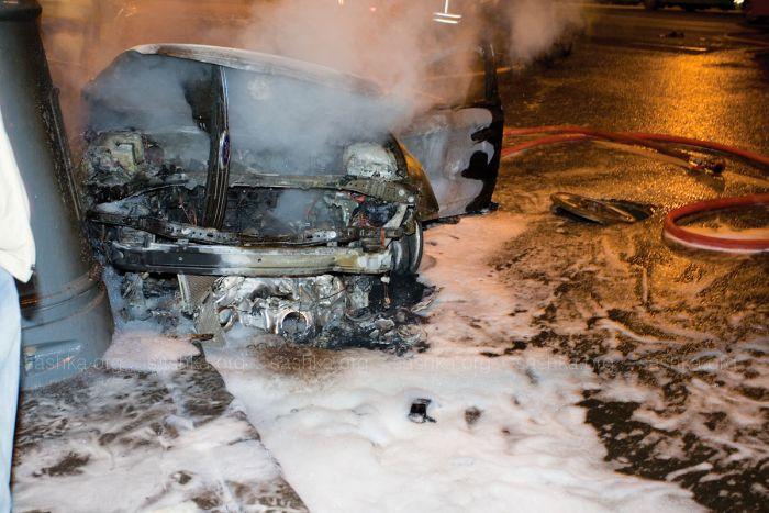 Lamborghini Murciélago crashed in Moscow (28 pics)