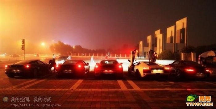 Supercar Owners Meeting in China (35 pics)