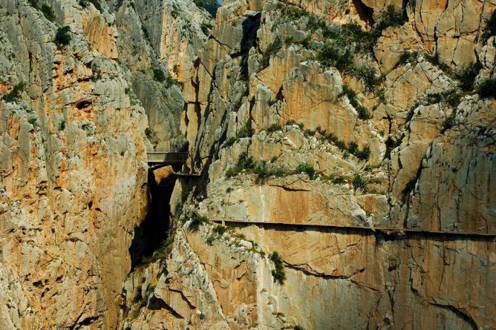 Caminito del Rey - very dangerous route (19 pics)