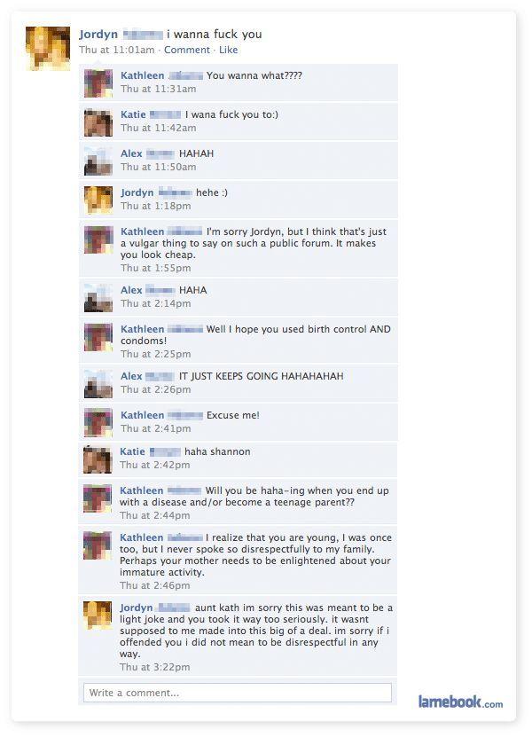 Facebook Funny Moments (31 screenshots)