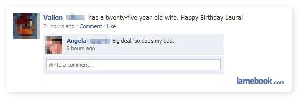 Facebook Funny Moments (31 screenshots)