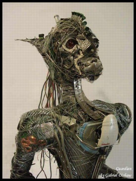 Junk Art by Gabriel Dishaw (50 pics)