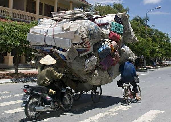 Overloaded Bicycles (10 pics)
