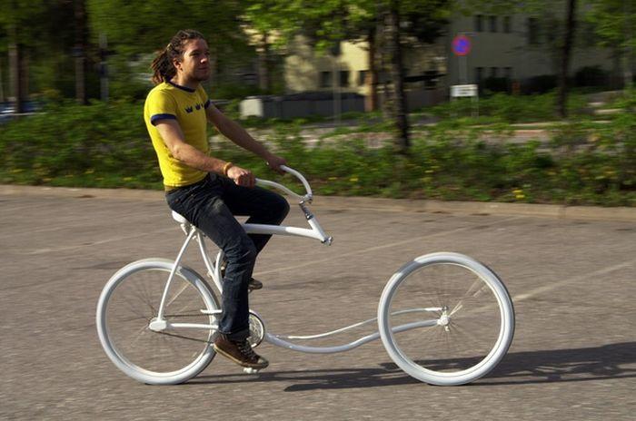 Forkless Cruiser - Cool Bike (5 pics)