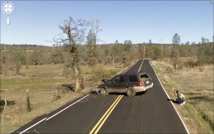 Google Streetview Accidents (10 pics)