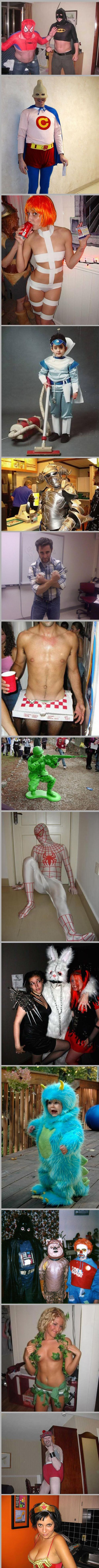 Crazy Halloween Costumes (26 pics)
