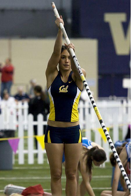 Women Athletes Posing Nude
