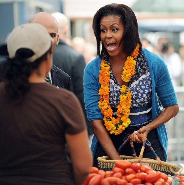 Michelle Obama Shopping (10 pics)