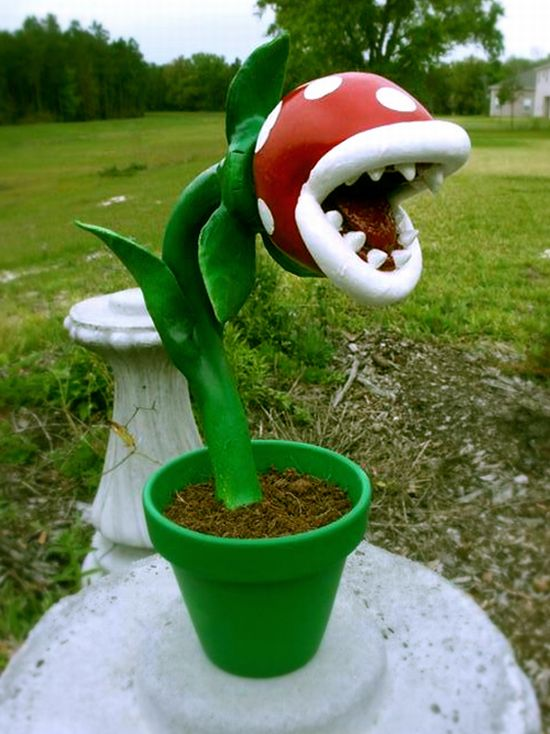 Piranha plant 5 pics for Plante mario