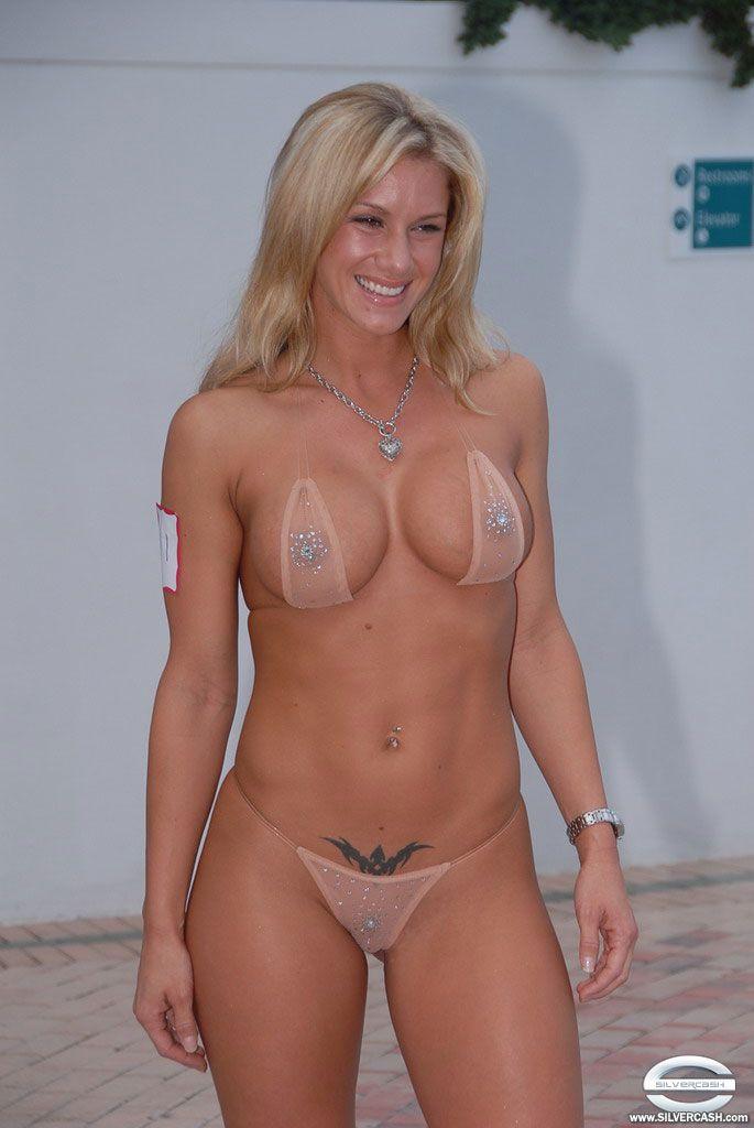 siver cash bikini contest pics