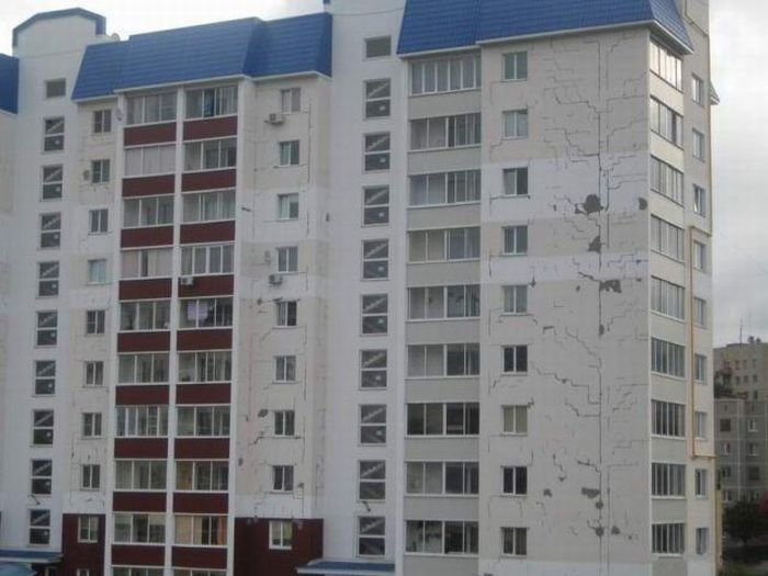 How it is built in Russia (6 pics)