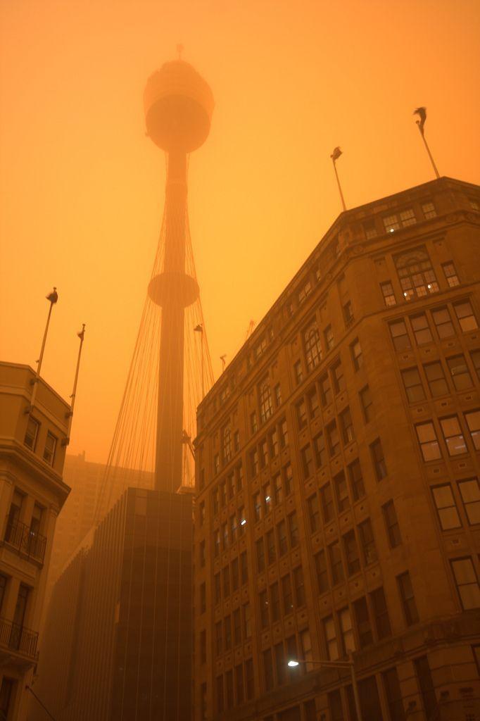 Dust Storm in Sidney, Australia (16 pics)
