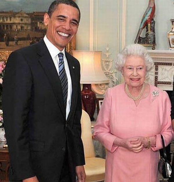 Queen Elizabeth II And US Presidents (11 pics)