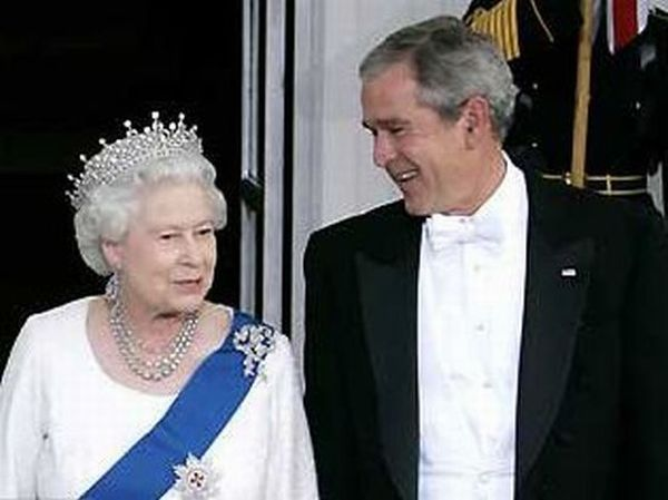 Queen Elizabeth II And US Presidents (11 pics)