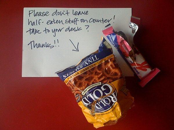 Passive Aggressive Office Kitchen Notes (25 pics)