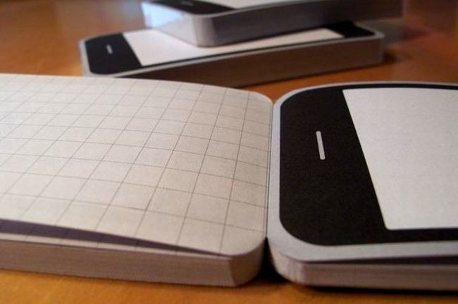 Notepod – the sketchbook for iPhone fans (5 pics)