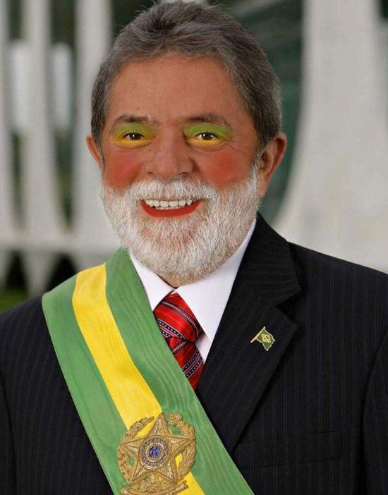 Politicians with makeup (17 pics)