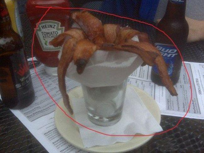 A Glass Of Bacon (2 pics)