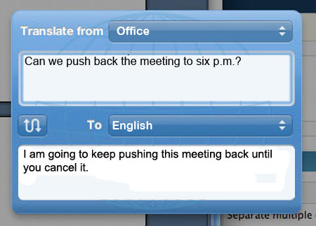 The Office E-mail Translator (10 pics)