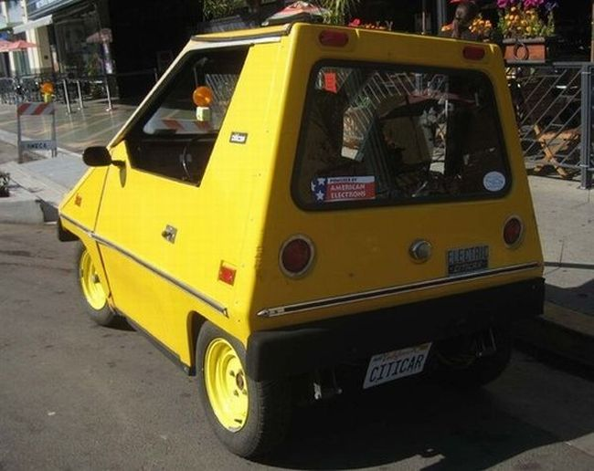 Citicar - American Electric Car from the 70s (20 pics)