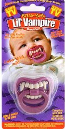 Halloween Lil' Vampire Pacifier (3 pics)