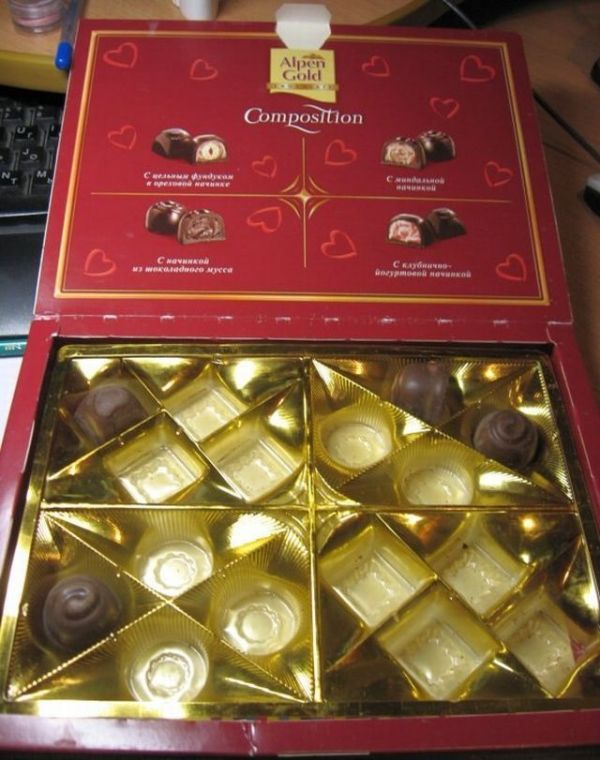 "Chocolates with a ""surprise"" (7 pics)"