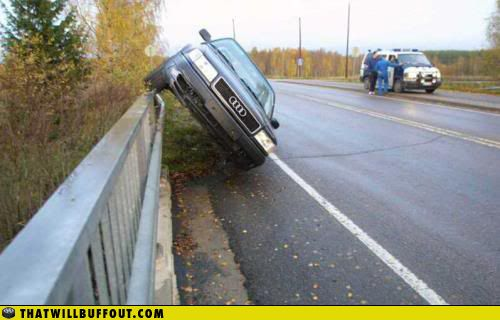 Epic car fails (63 pics)