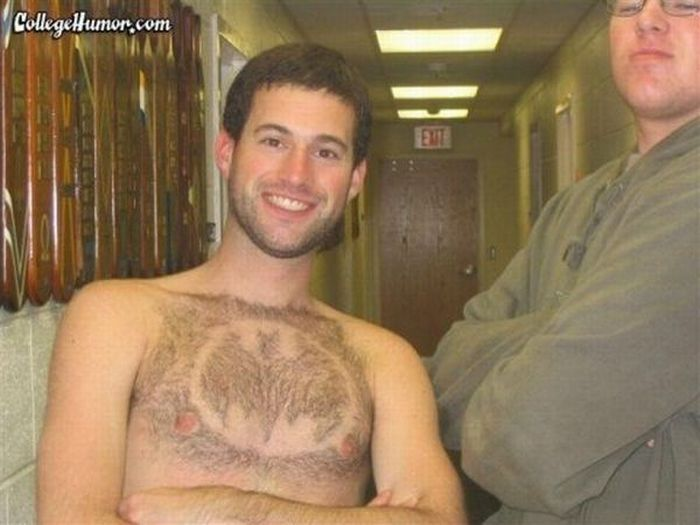 Chest Haircuts (25 pics)