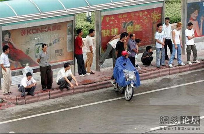 Street Robbery in China (5 pics)