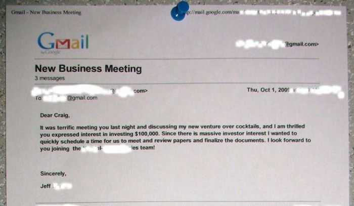 New Business Email