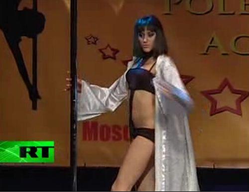 Pole Dancer Falls Hard After Passionate Performance