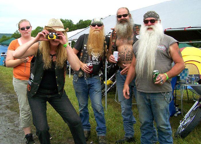 Scary Photos Of A Harley Festival (26 pics)