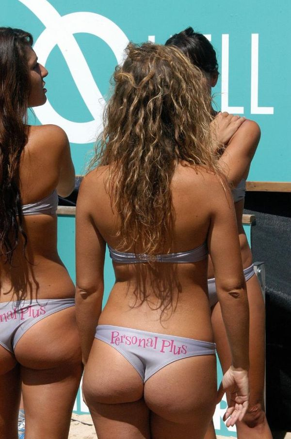 Beach Volleyball Bikini Cheerleaders (61 pics)