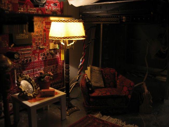 Casemod. Living Room Inside A PC (4 pics)