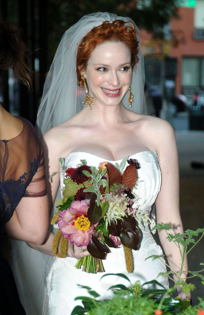 Best Tits Of Hollywood Christina Hendricks Getting Married 10 Pics-2699